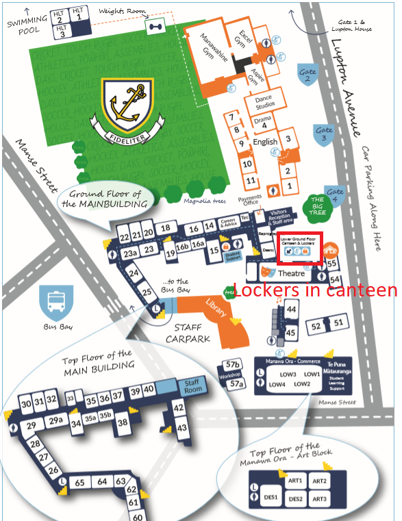 WGHS Map canteen
